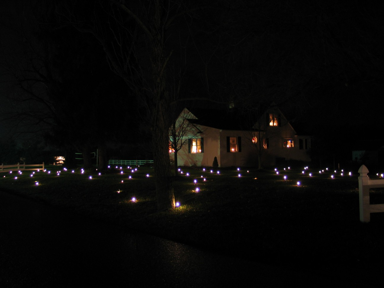 Home Lawn Lights Twinkling Led Christmas Star