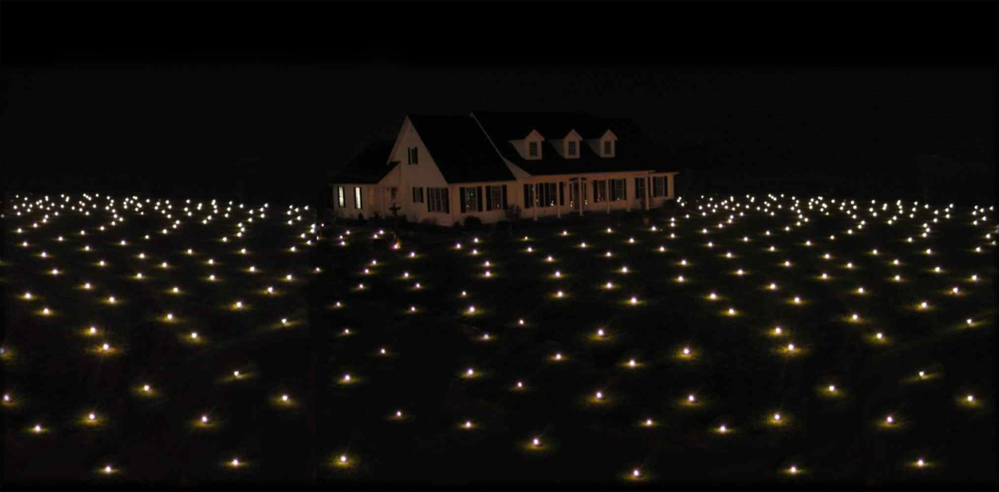 want an extraordinary nighttime display lawn lights - Christmas Lawn Lights